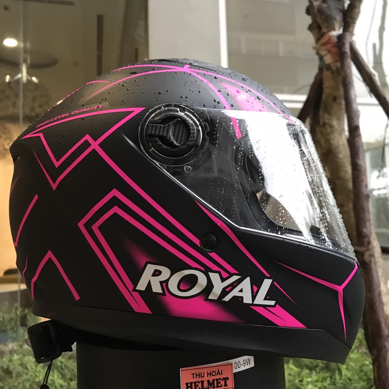 Chiết Khấu Mũ Bảo Hiẻm Royal M136 Tem Hòng Kính Trắng Royal Helmet Trong Việt Nam