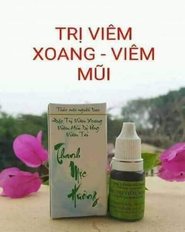 Thảo mộc đặc trị viêm xoang cổ truyền Thanh Mộc Hương nhập khẩu