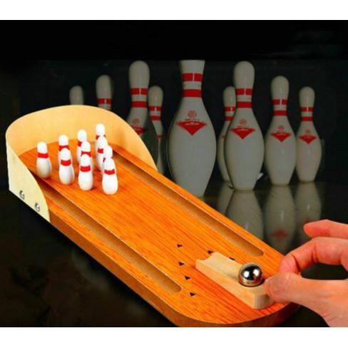 Hình ảnh Bowling gỗ mini