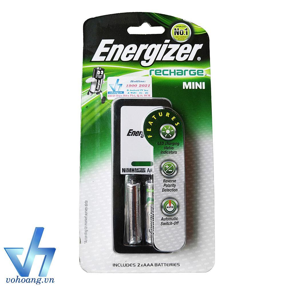 Chiết Khấu Bộ Sạc Energizer Recharge Mini Kem 2 Pin Aaa 700Mah Energizer Hồ Chí Minh