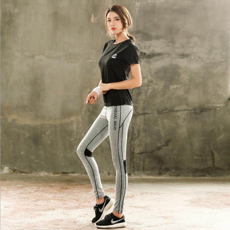 Hình ảnh Combo bộ quần áo thể thao nữ Skot 02 (Hàng nhập khẩu) đồ tập gym, yoga