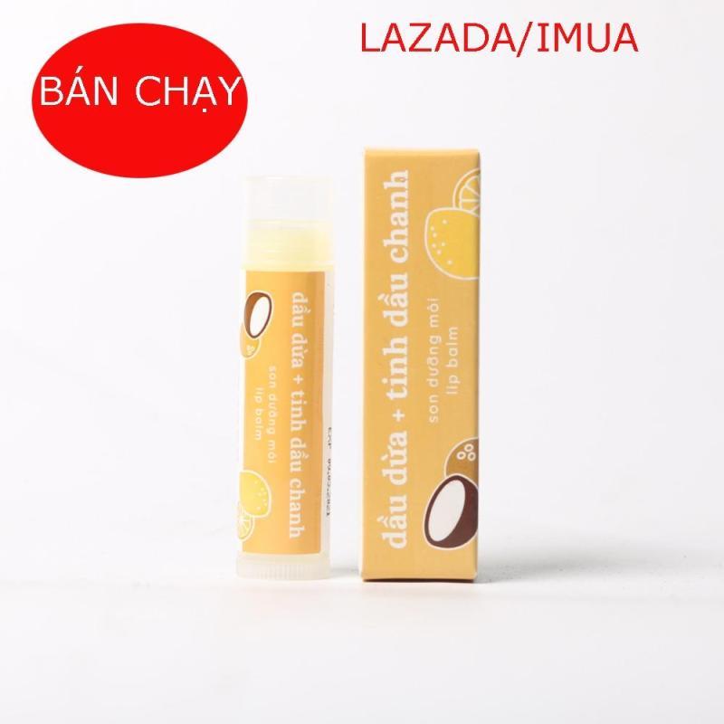 son dưỡng môi Lip Balm ( Lipcare) cocoon mẫu mới cao cấp