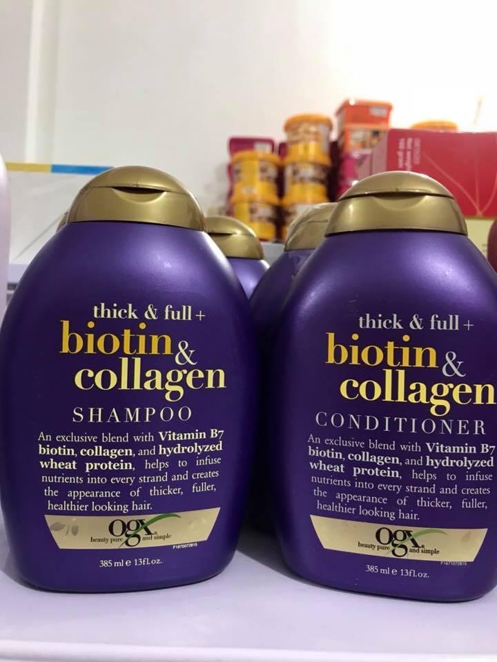 Hình ảnh Set dầu gọi xả Biotin