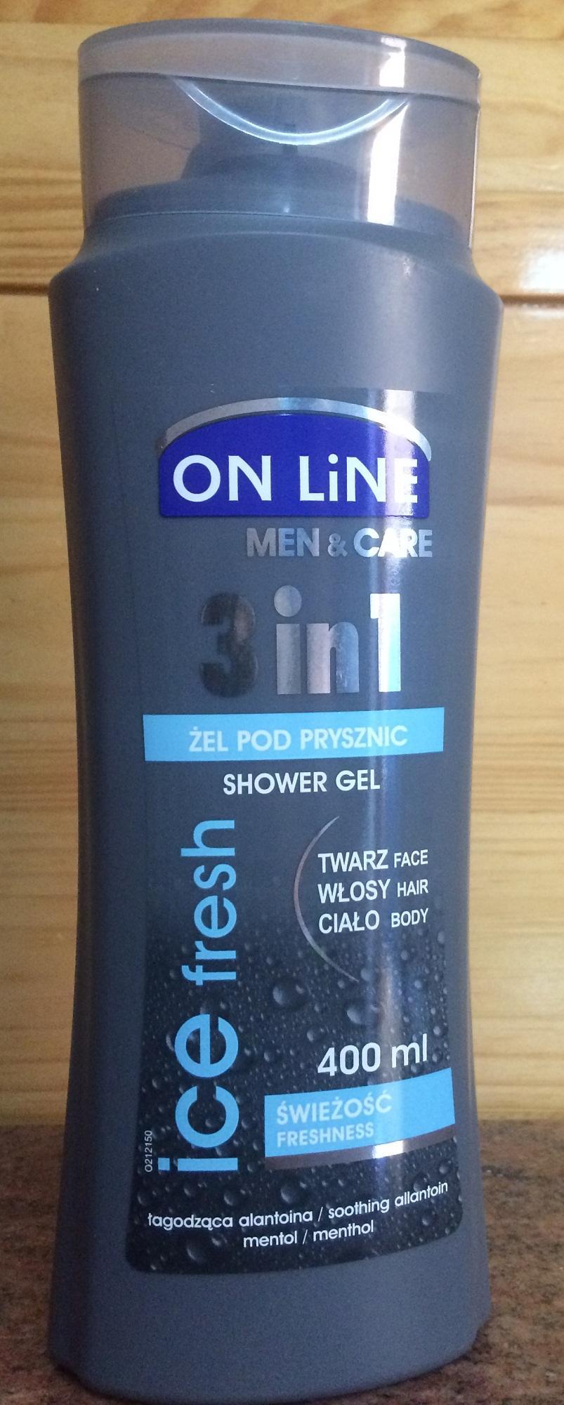 Hình ảnh Online Shower Gel for men 3 in 1 ( nhập khẩu từ Ba Lan)
