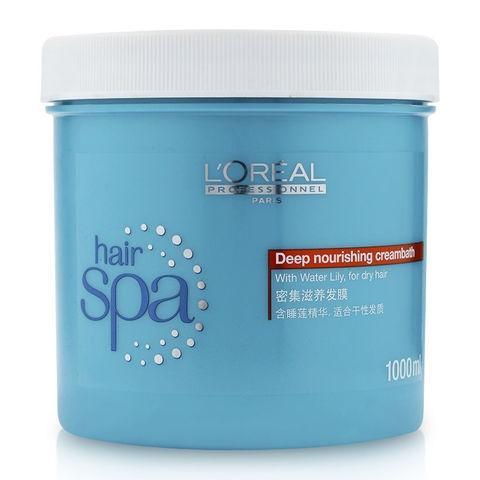 Hấp Dầu Loreal Professional Hair Spa Deep Nourishing 1000ml 1
