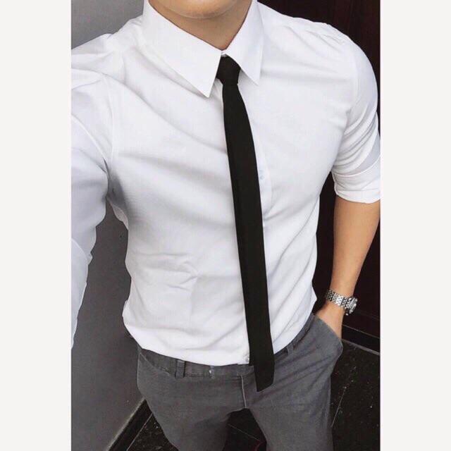 Hình ảnh Cà vạt Hàn quốc bản 5cm trẻ trung