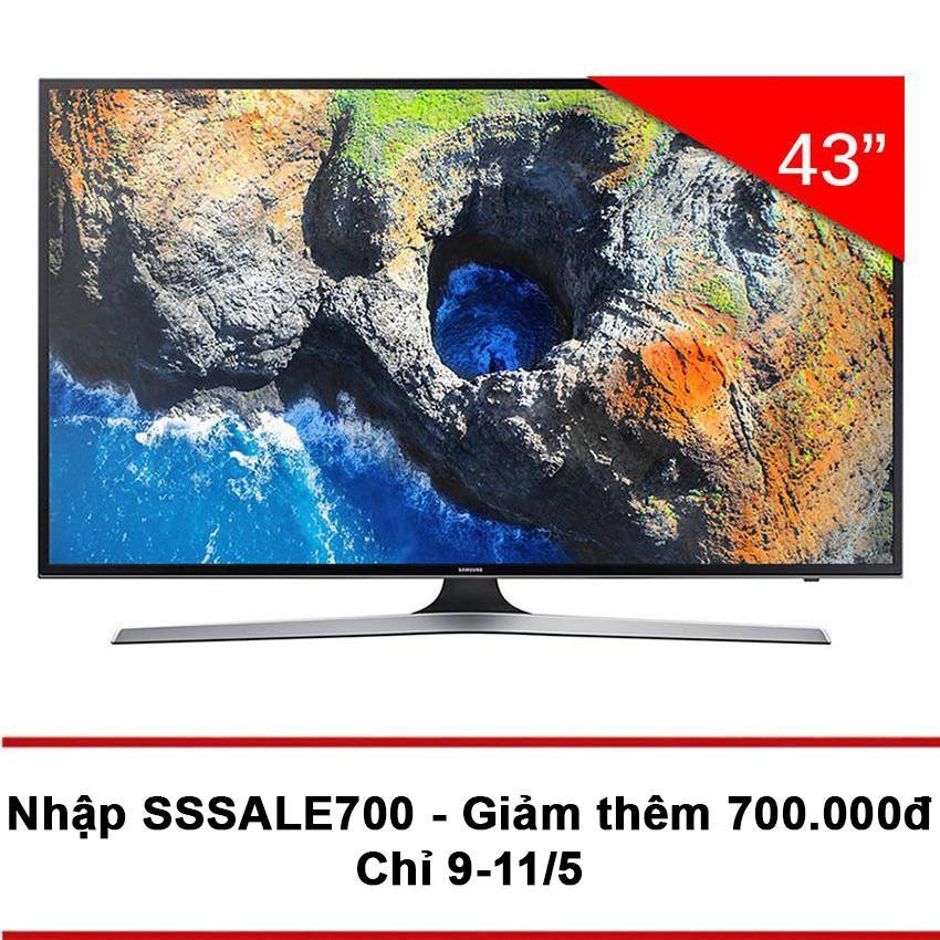Giá Bán Smart Tv Samsung 43Inch 4K Uhd Model 43Mu6153 Đen Hang Phan Phối Chinh Thức Trực Tuyến