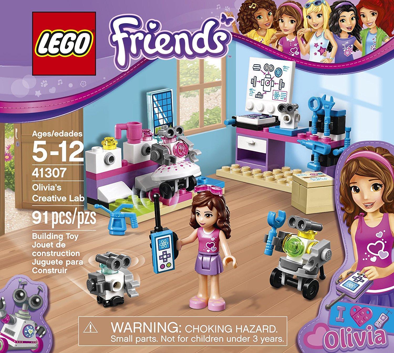 Lego Friends 41307 phòng thí nghiệm của Olivia