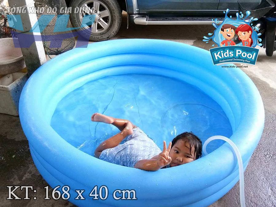 Intex 58446 - Bể bơi cho trẻ nhỏ 3 tầng 168x40 cm