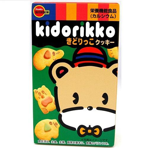 Hình ảnh Bánh qui hình thú Bourbon Kidorikko 55g