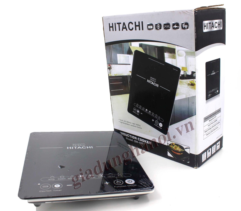 Hình ảnh Bếp từ đơn Hitachi model DH-15T7 (màu đen) siêu bền