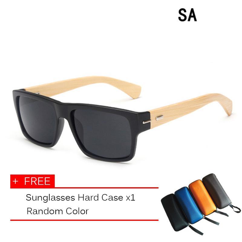 887f89ab2ba Sunglasses Men Wooden Sunglass Women Mirror Original Wood Sun Glasses  Superior Comfort Goggle Cozy - intl