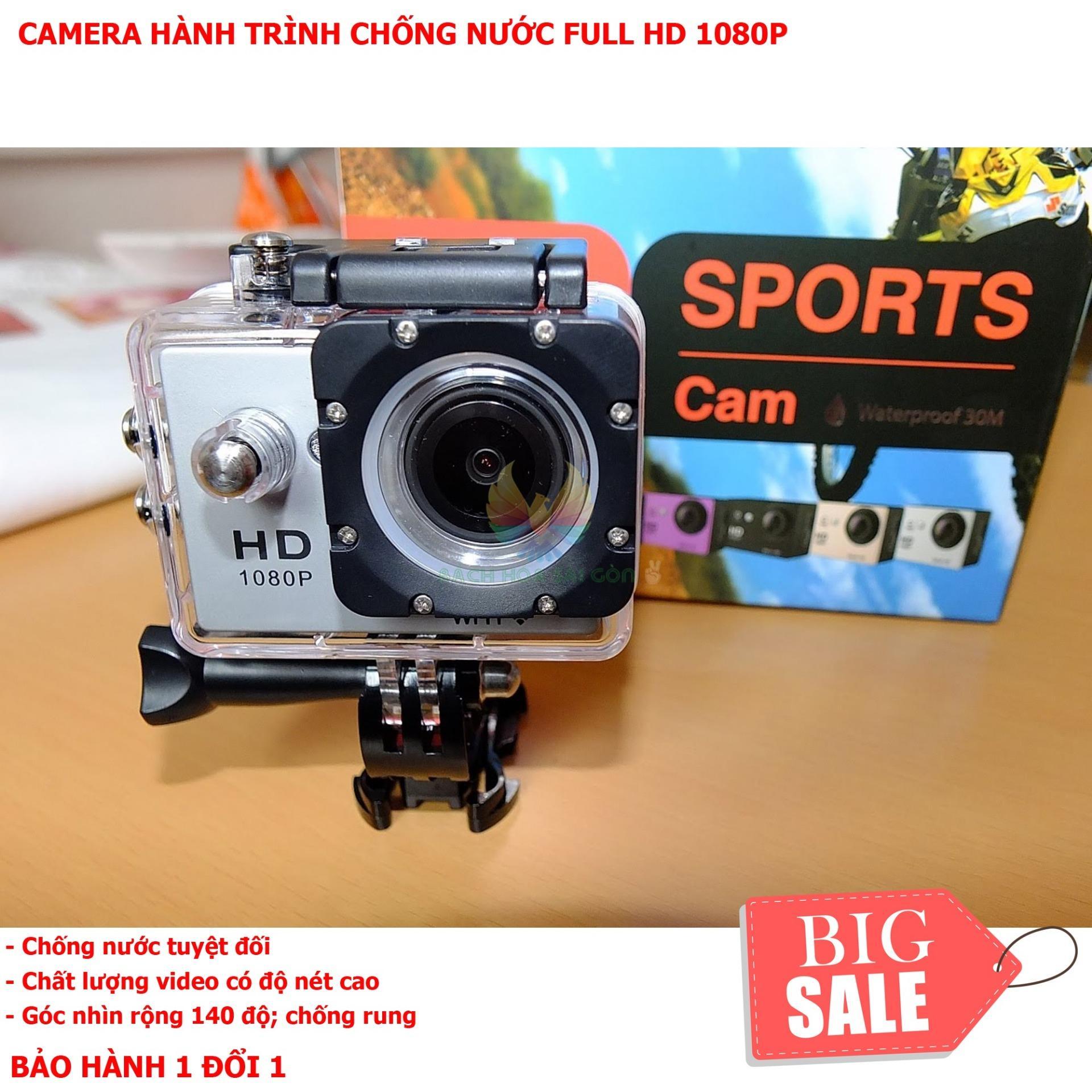 Hình ảnh Camera Hành Trình Gopro Hero 4 - Camera Hành Trình Sport 1080 Với Vỏ Hộp Chống Nước Giúp Ghi Lại Những Hình Ảnh Thực Tế Sống Động - Mang Tới Góc Nhìn Sống Động Cho Người Xem