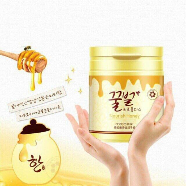 Hình ảnh Kem lột da làm trắng da tay mật ong nguyên chất Nourish Honey