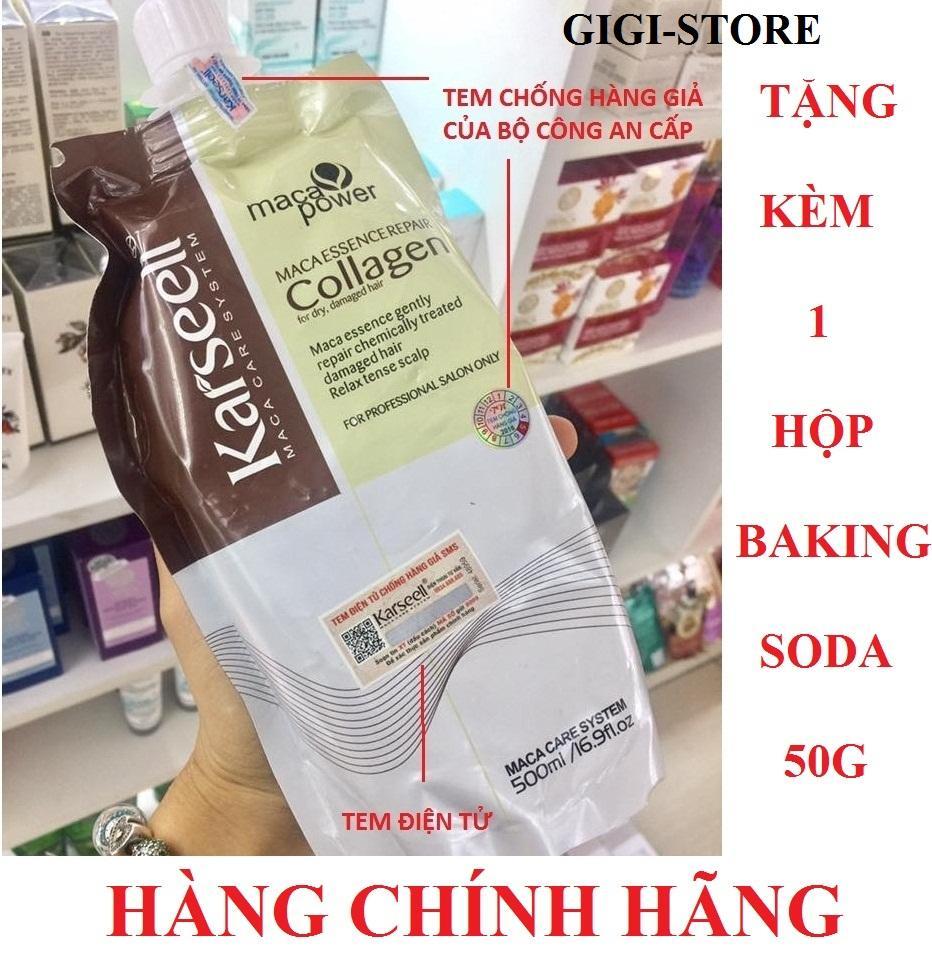 Mua Dầu Hấp Toc Collagen Karseell Maca 500Ml Tặng Kem 1 Hộp Bột Tẩy Trắng Răng Baking Soda Nt 50G Trị Gia 50 000Đ Hồ Chí Minh