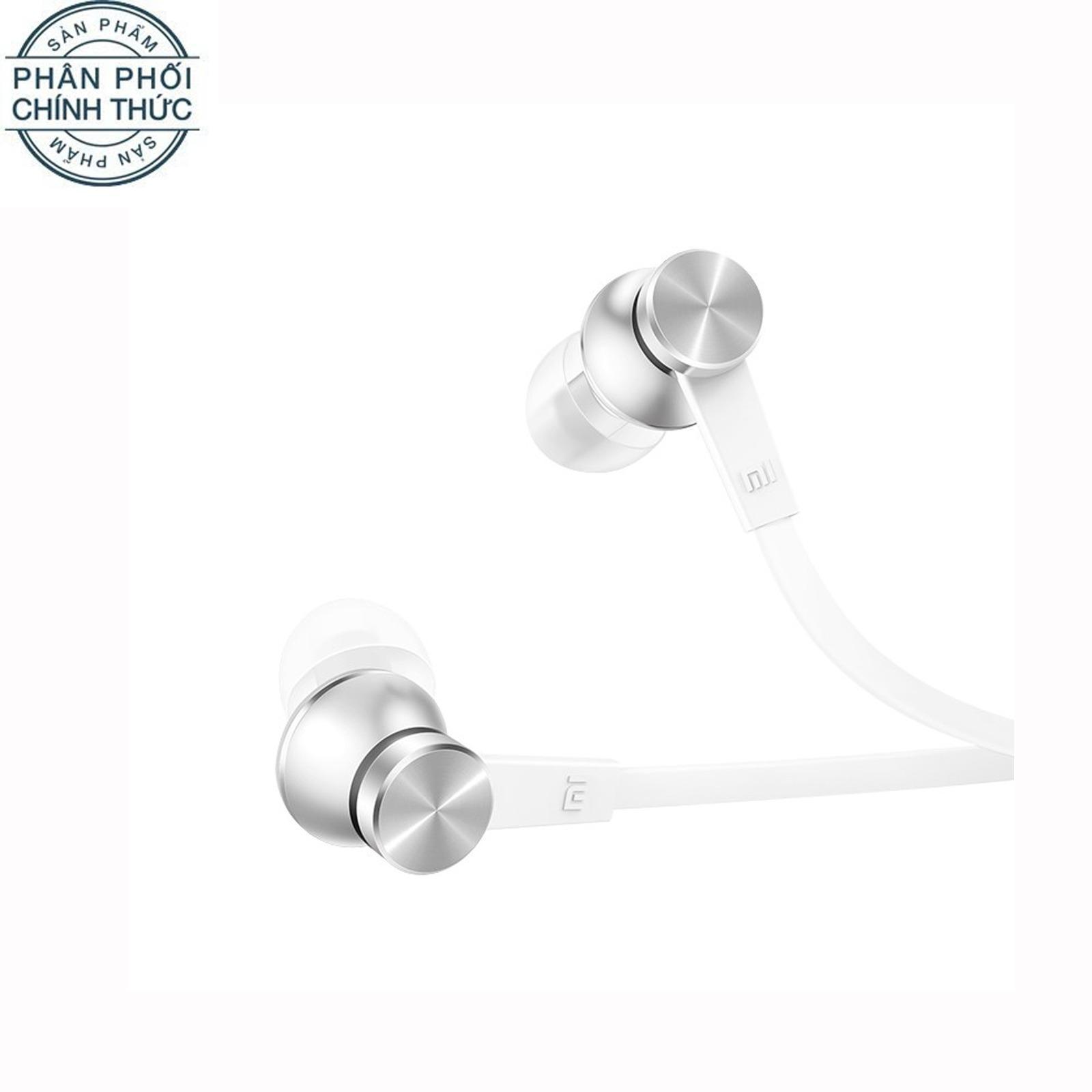 Giá Bán Tai Nghe Nhet Tai Xiaomi Mi In Ear Headphones Basic 2016 Trắng Hang Phan Phối Chinh Thức Nguyên