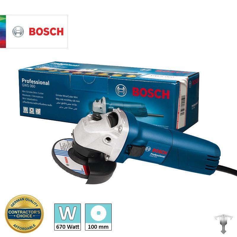 Máy Mày Góc Bosch GWS 060 Professional
