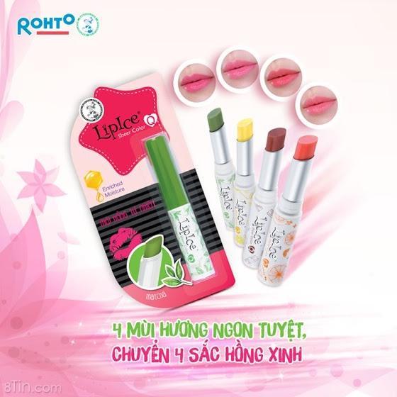 Hình ảnh Son Dưỡng Lipice Sheer Color Q Orange Juice 2G (Hồng Ánh Cam)
