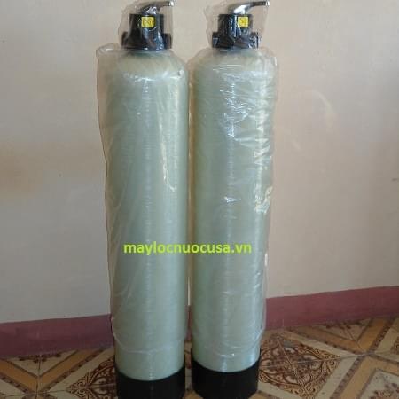 Hình ảnh Cột lọc nước composite 1054 lọc nước sinh hoạt nước giếng khoan
