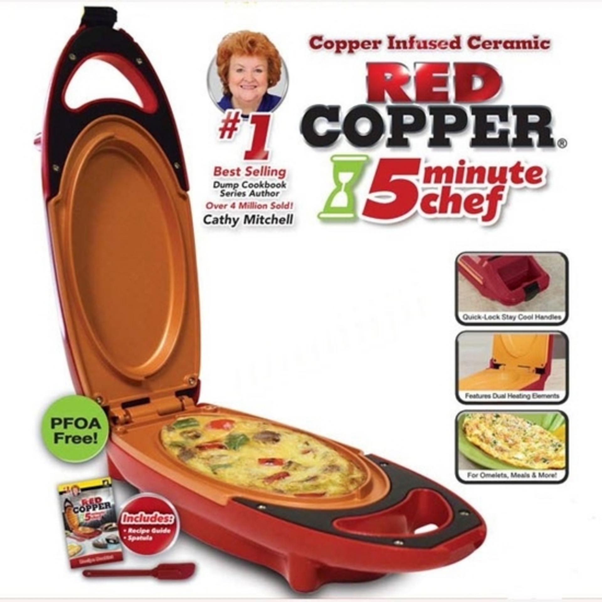 Hình ảnh Máy nướng bánh Red Copper - Thanos Store