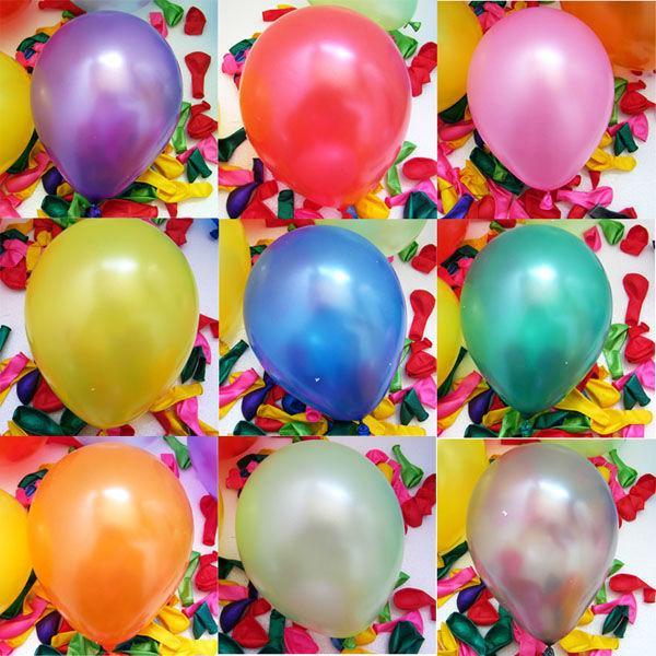 Hình ảnh Bịch 500 cái bong bóng thổi cho bé loại nhỏ (đủ màu)