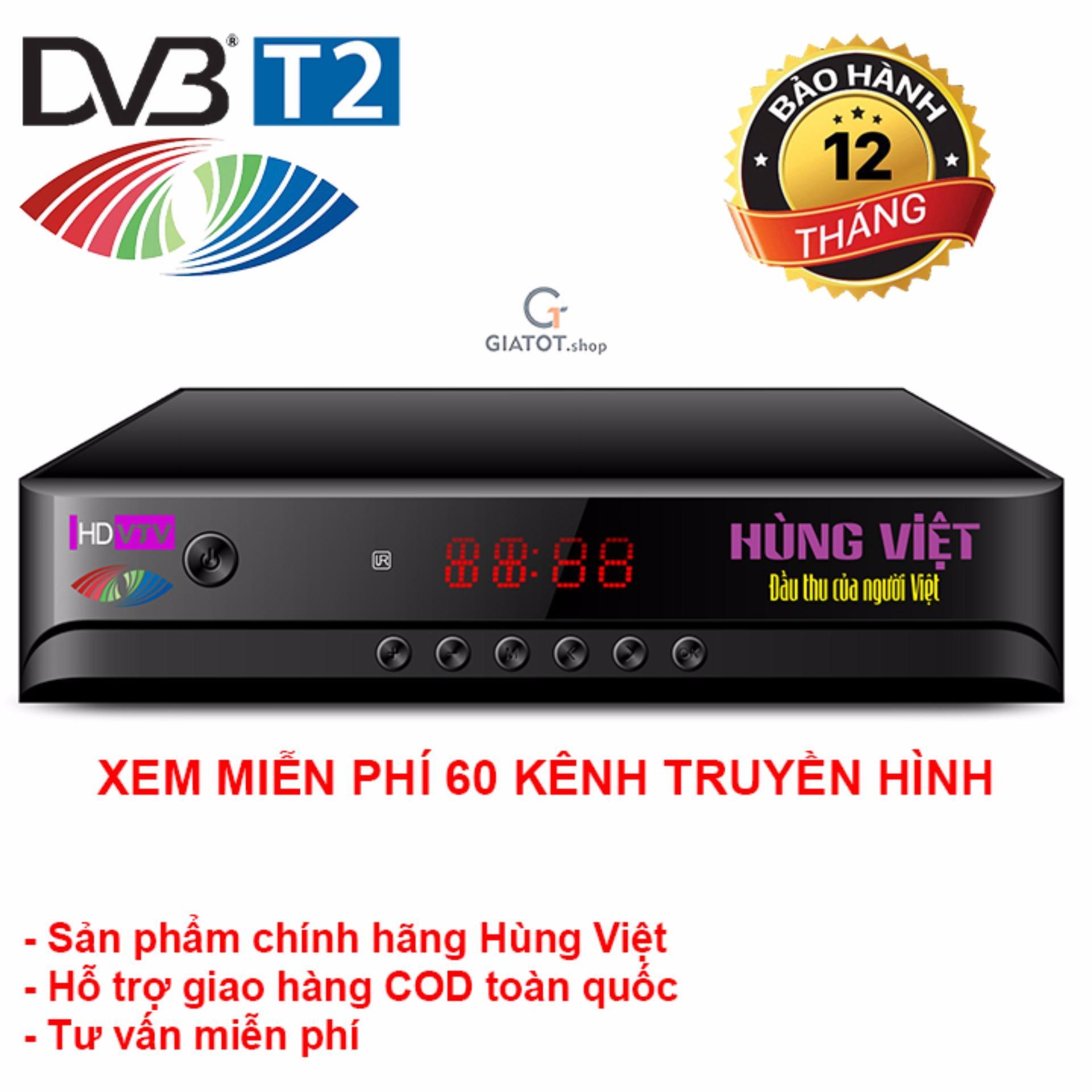 Đầu Thu Kỹ Thuật Số Dvb T2 Hung Việt Hd 789S Chiết Khấu Hà Nội