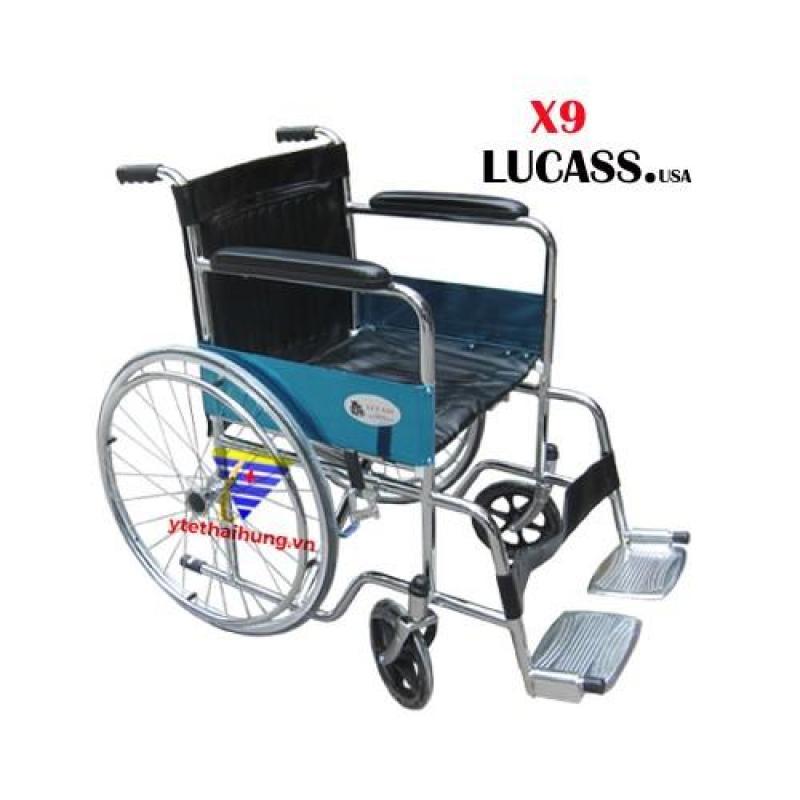 Xe lăn tiêu chuẩn Lucass X9 nhập khẩu