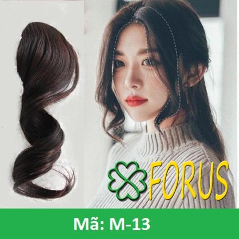 Tóc mái xoăn dài M13 [nâu đỏ 2/33] Sỉ 30k/ 1 cặp nhập khẩu