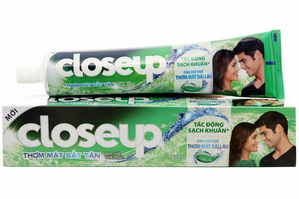Hình ảnh Combo 5 Kem đánh răng closeup 30g