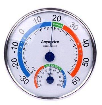 Nhiệt ẩm kế đo nhiệt độ phòng và ngoài trời Kilakichi TH101E F