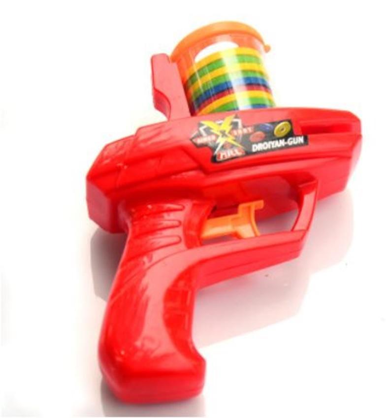 Hình ảnh Đồ chơi súng bắn vòng xốp đĩa bay