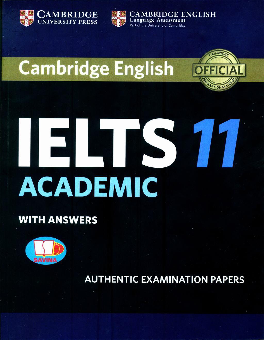 Mua Cambridge IELTS 11 Academic