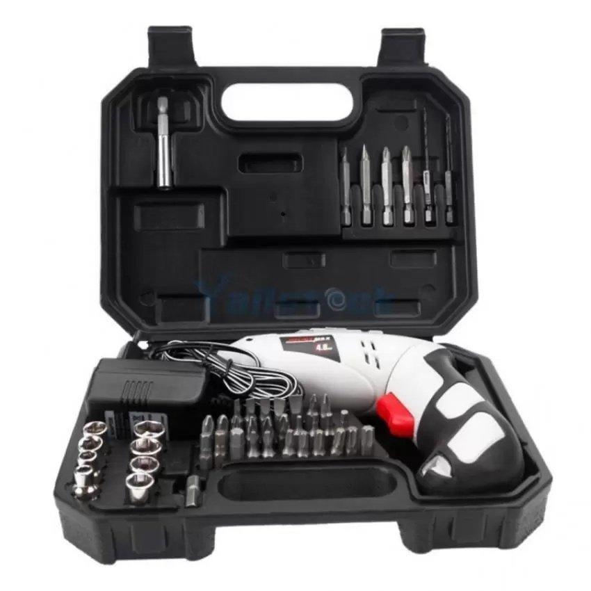 Bộ máy khoan cầm tay sạc pin 45 chi tiết Joust Max đèn led siêu bền