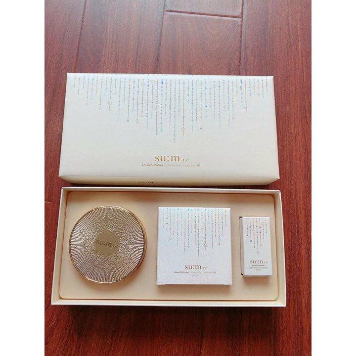 Hình ảnh Set Phấn Nước Su:M37 Losec Summa Gold Metal Cushion