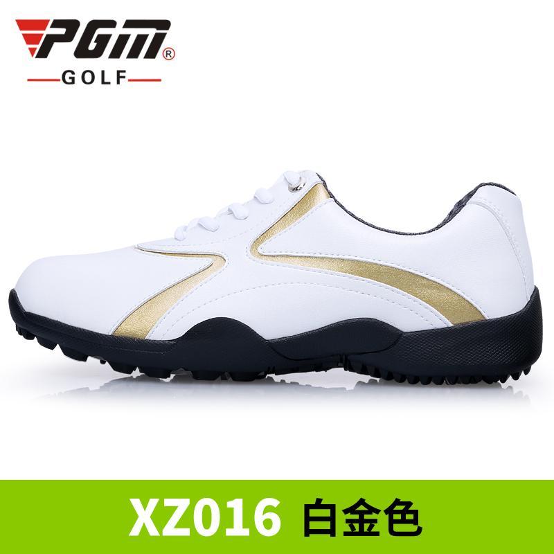 PGM Mens Classic Breathable Anti-slip Golfing Shoes Platinum Shoes Clothing  Men Shoes Golf Shoes 67aca1150