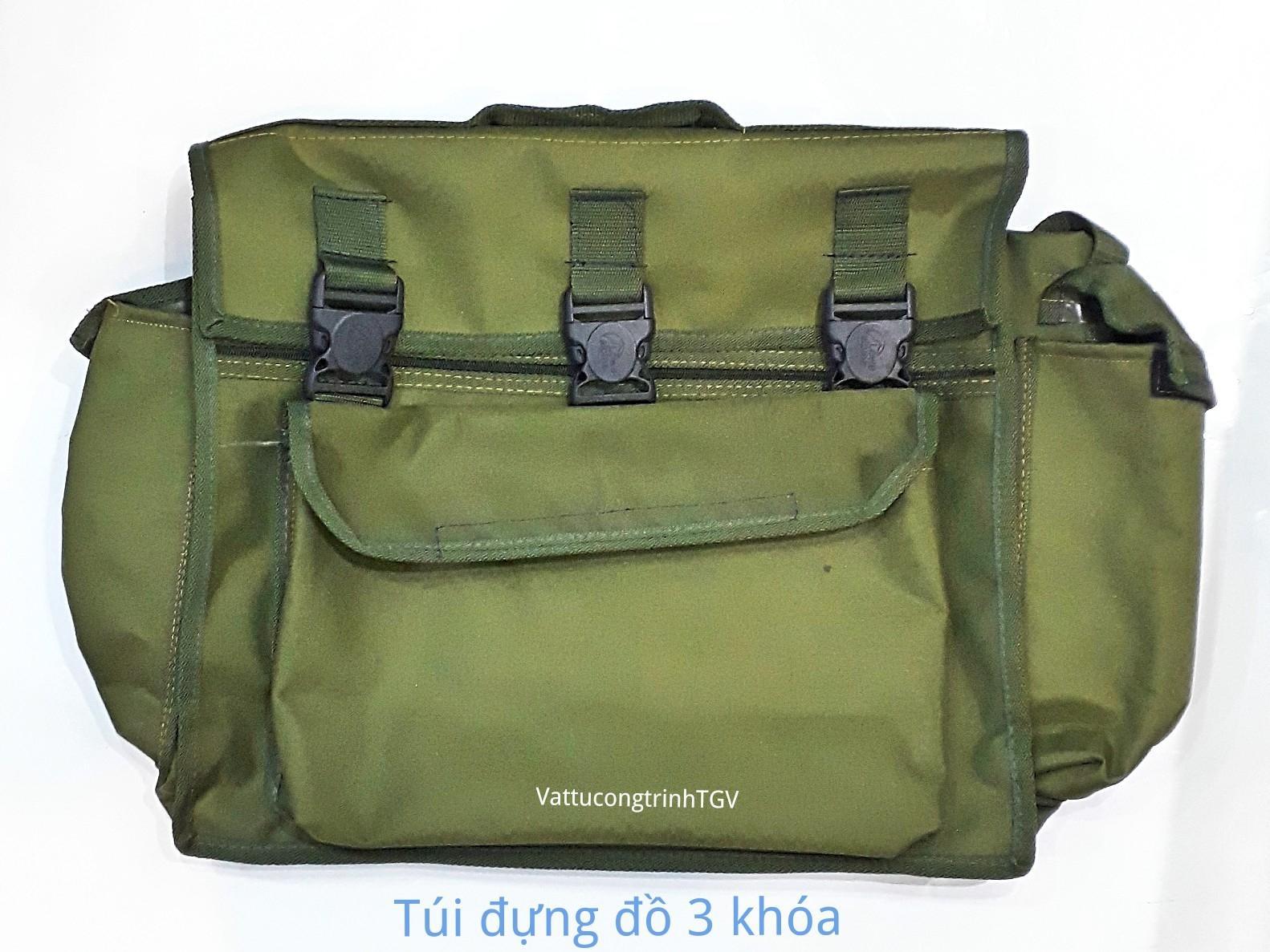 Túi đựng đồ 3 khóa KT 45x40x18 ( đồ dùng cho thợ)