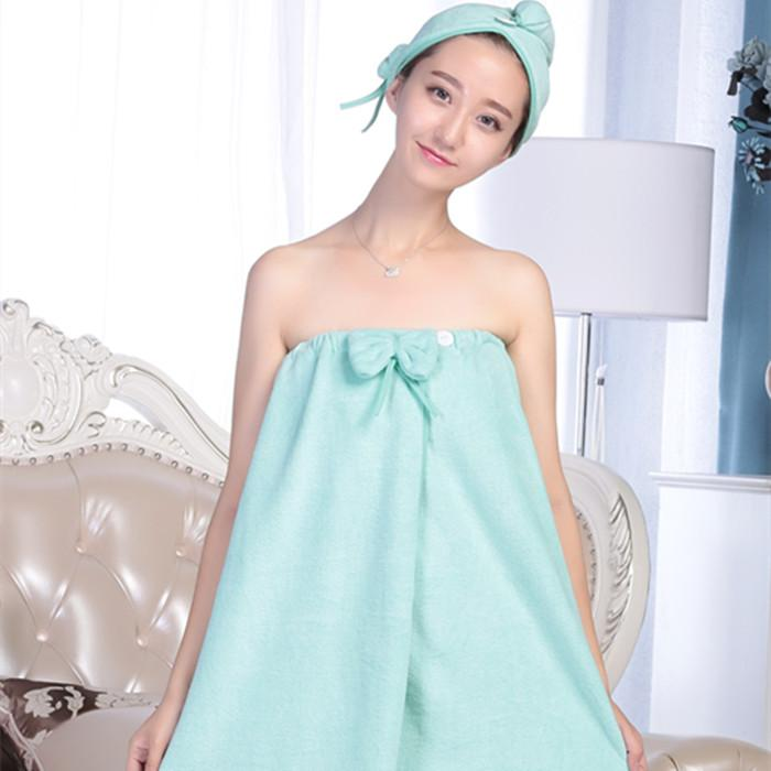 Wearable Bath Towel Wrapped Tube Top Adult Soft Yu Qun Female Large Size Than Pure Cotton Water Absorption Beauty Salon Moisture-Wicking Clothing Bathrobes By Taobao Collection.