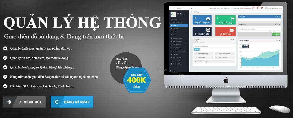 Hình ảnh Thánh Website kiêm phần mềm quản lý bán hàng - Bảo hành trọn đời