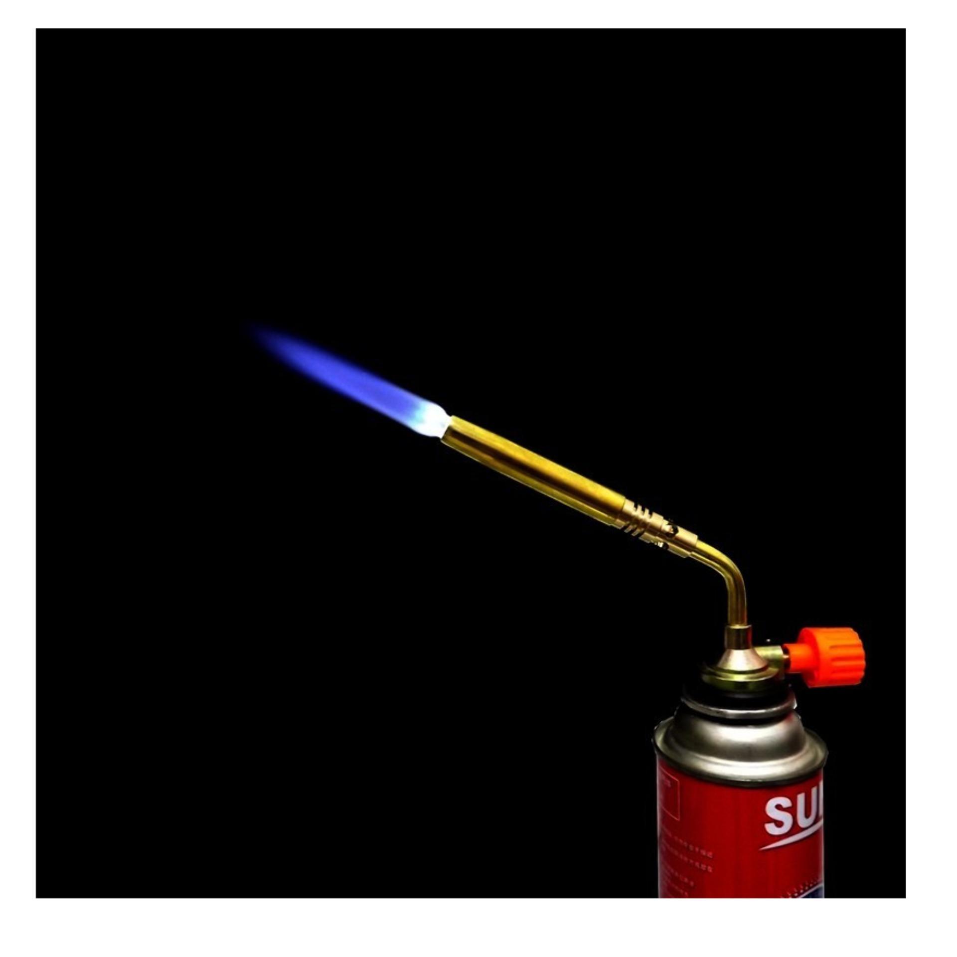 Đèn khò hàn ống đồng - Đầu khò lửa - Sử dụng bình gas mini
