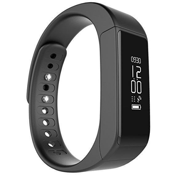 Hình ảnh Đồng hồ thông minh I5 Plus (Đen)