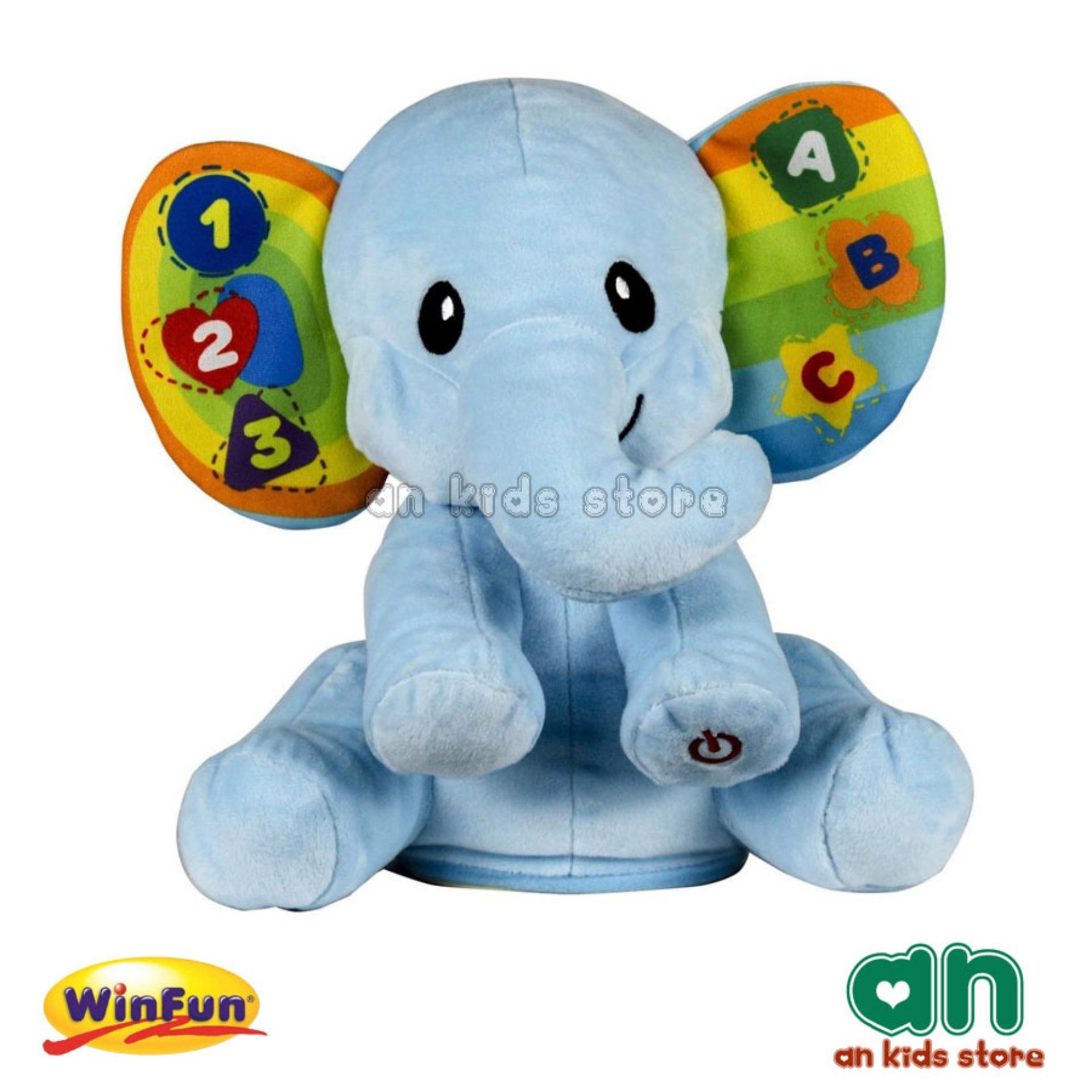 Hình ảnh Chú voi dễ thương lắc lư vui nhộn biết hát Winfun 0659-01