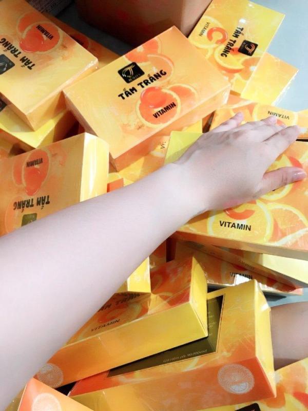 Tắm Trắng Vitamin C ( Tắm trắng Cam ) nhập khẩu