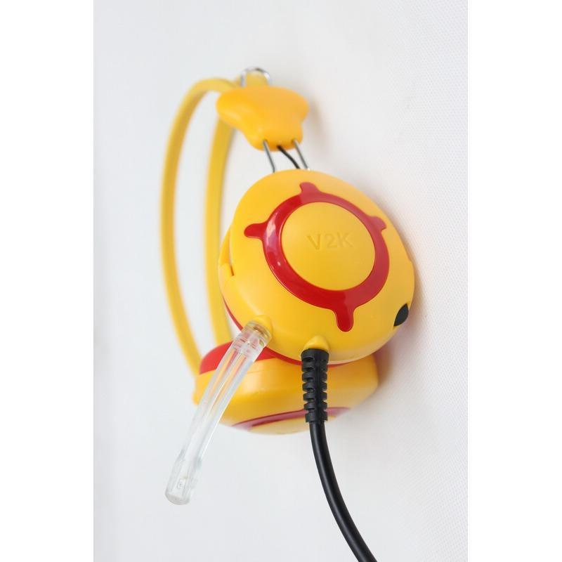 Hình ảnh Tai nghe chụp tai V2K (Vàng)