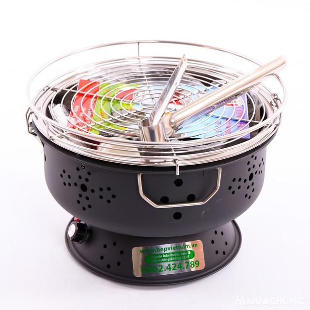 Bếp nướng than hoa Nam Hồng BN300 Dùng Pin