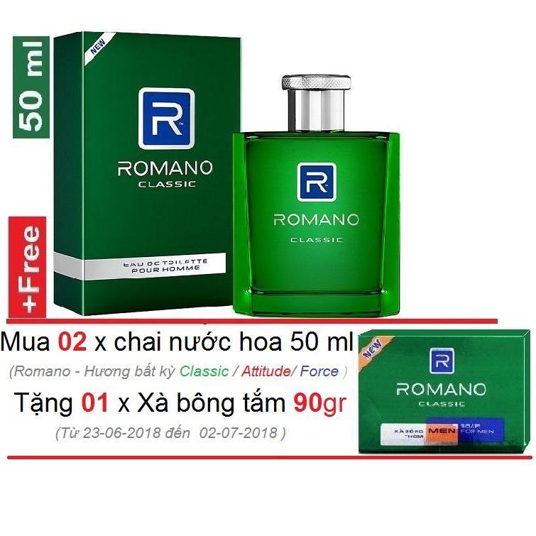 Romano -  Nước Hoa cao cấp  50 ml - Classic