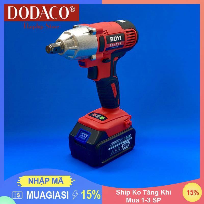 [Mua 1-4 SP Ship Không Đổi] - Máy xiết bu lông dùng pin DODACO DDC3200 - BOYI - 21V - 20 x 18 x 8cm (Đỏ)