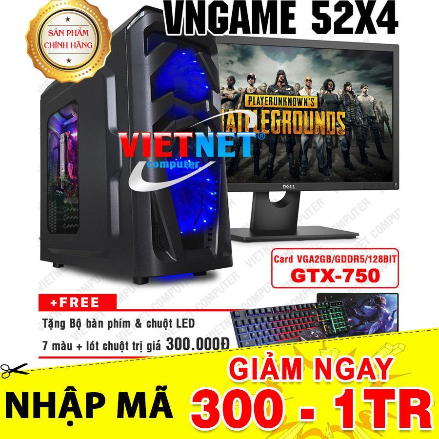 Hình ảnh Máy tính chiến game VNgame 52X4 core i5 2400 GTX 750 8GB Hdd 500GB + LCD Dell 22inch