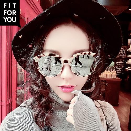2017 Baru Kacamata Hitam Wanita Sepanjang Bingkai Bintang Model Kacamata Hitam Kepribadian Cerah Kacamata Hitam Terpolarisasi