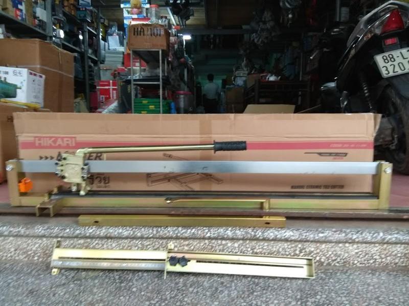 Máy cắt gạch đẩy tay (1m - 1 gióng) hikari
