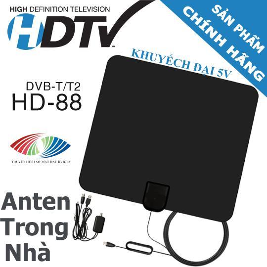 Hình ảnh Anten DVB-T2 trong nhà HD88 - Bắt sóng tốt